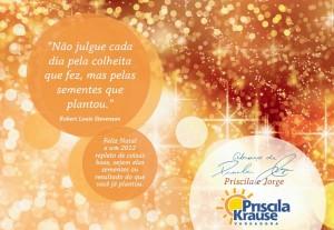 Cartão fim de ano Priscila Krause