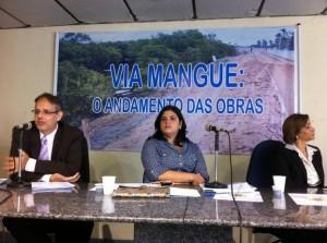 Foto Audiência Via Mangue