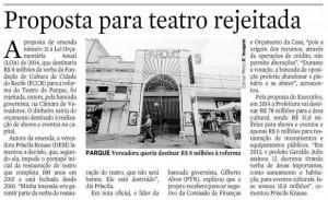 Matéria Teatro do Parque