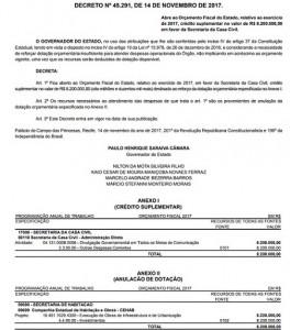 Decreto 45.291 2