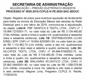 Diário Oficial 180519