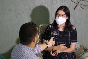 Priscila entrevista TV Jornal